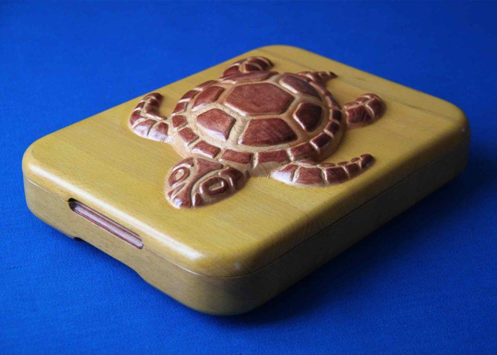 КБ Рукоделки: резьба по дереву, изделия из дерева на заказ Шкатулка Черепаха