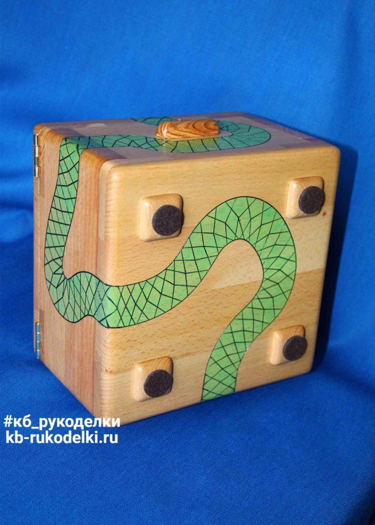 КБ Рукоделки: подарки из дерева, изделия из дерева на заказ Деревянная шкатулка «Под охраной»