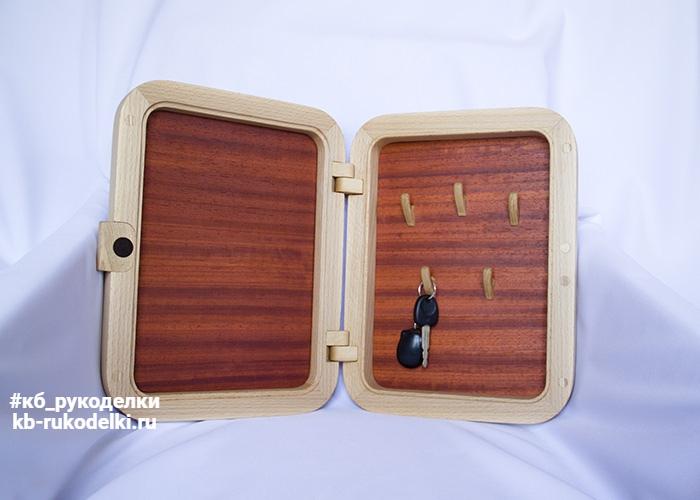 КБ Рукоделки: резьба по дереву, изделия из дерева на заказ Ключница настенная