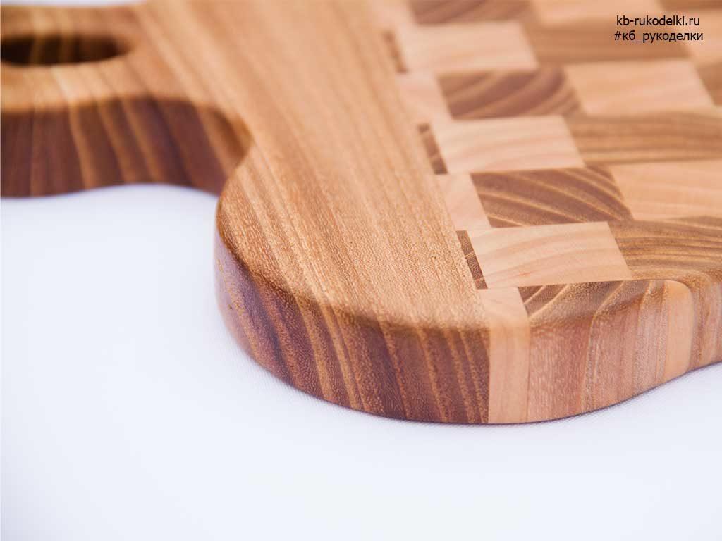 КБ Рукоделки: подарки из дерева, изделия из дерева на заказ Торцевая разделочная доска